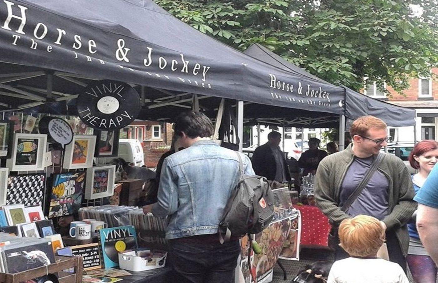 Chorlton Green Market, Pedddle