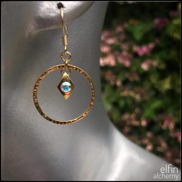 elfin alchemy statement zoom earrings