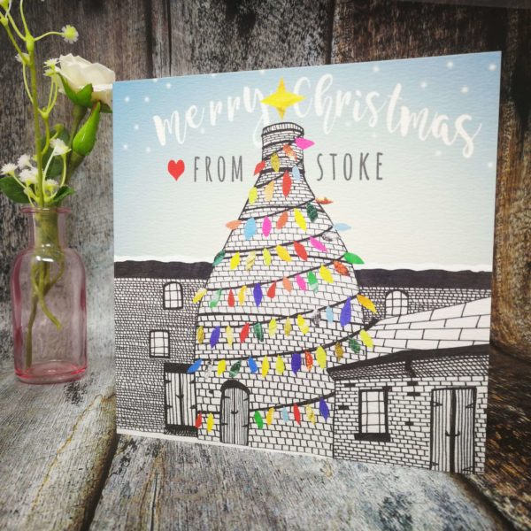 Love From Stoke Christmas Card