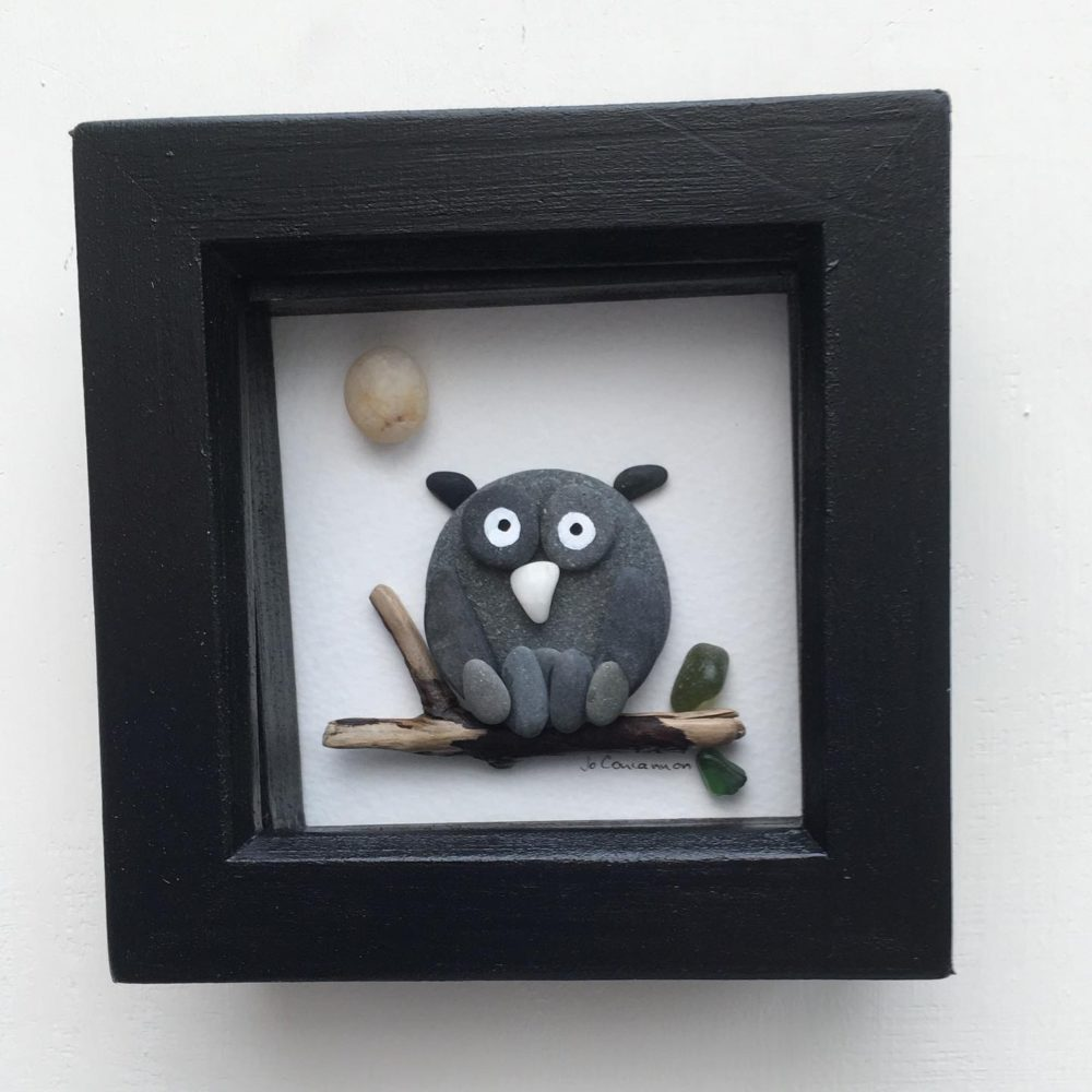 Eclectic Creations by Jo, Owl hanging. Pedddle.