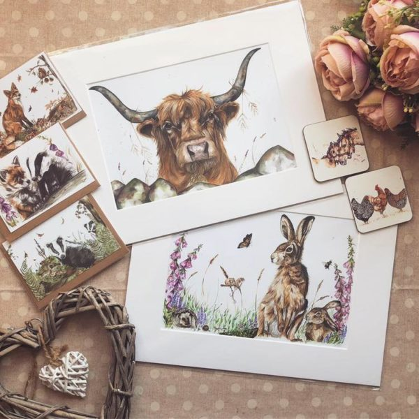 Hollie Childe Art prints and cards