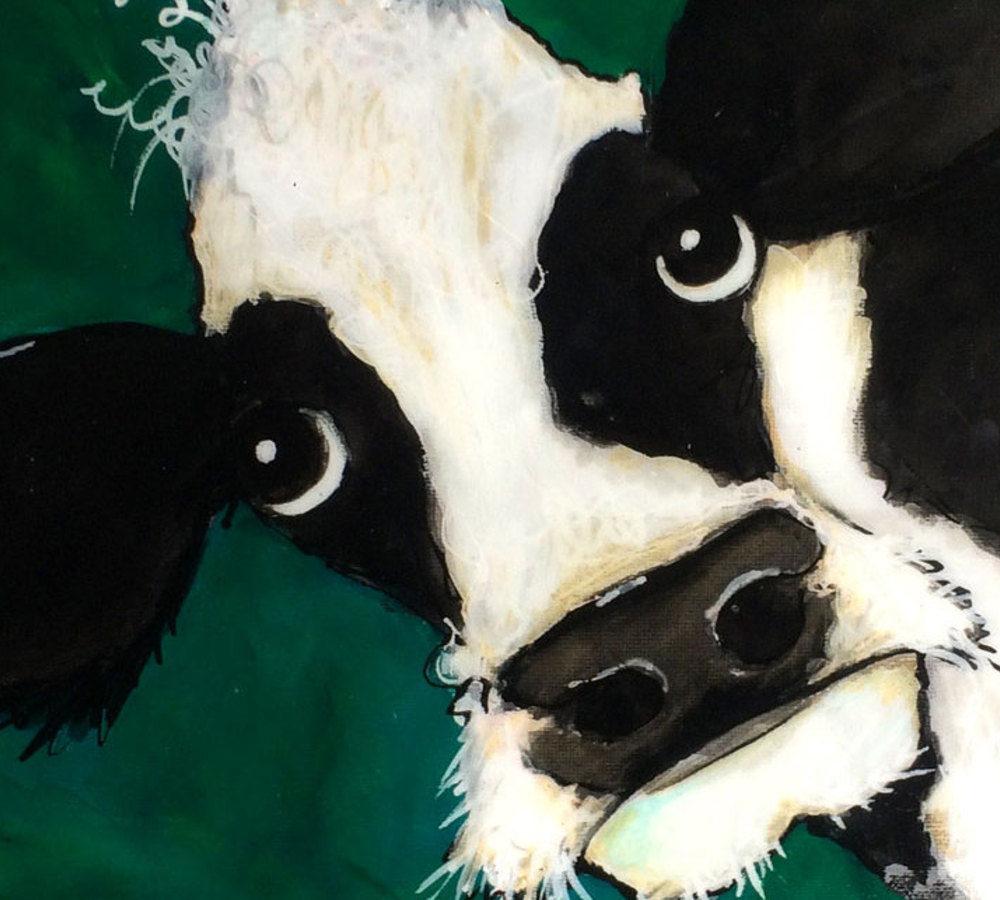 Arty Sally Green Cow, Pedddle