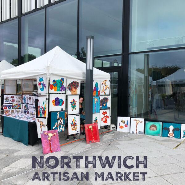 Arty Sally at Northwich Artisan Market