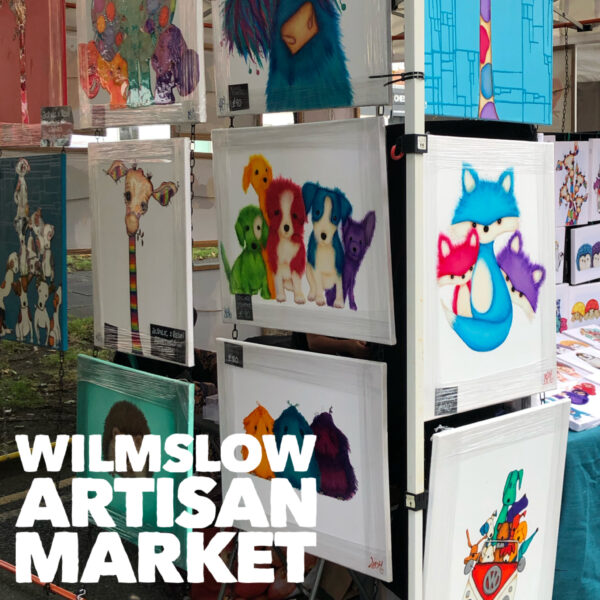 Arty Sally at Wilmslow Artisan Market