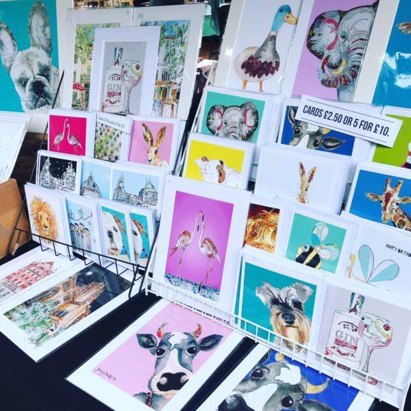 Jenny Dunlop Art cards & prints, Pedddle