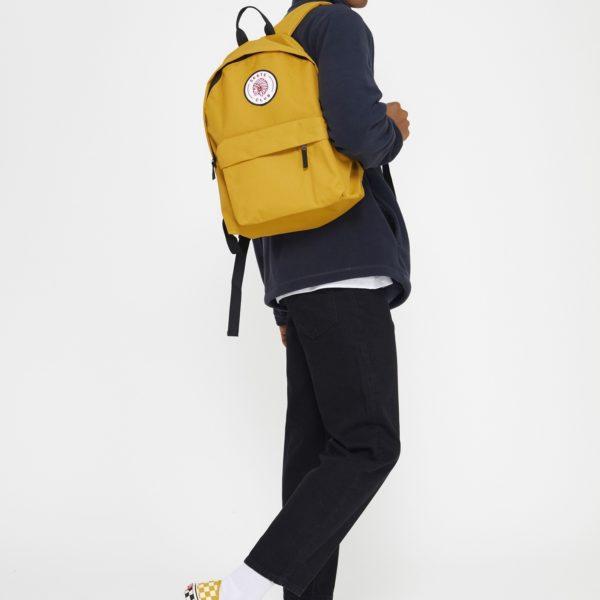 Junkbox Apparel, yellow rucksack. Pedddle