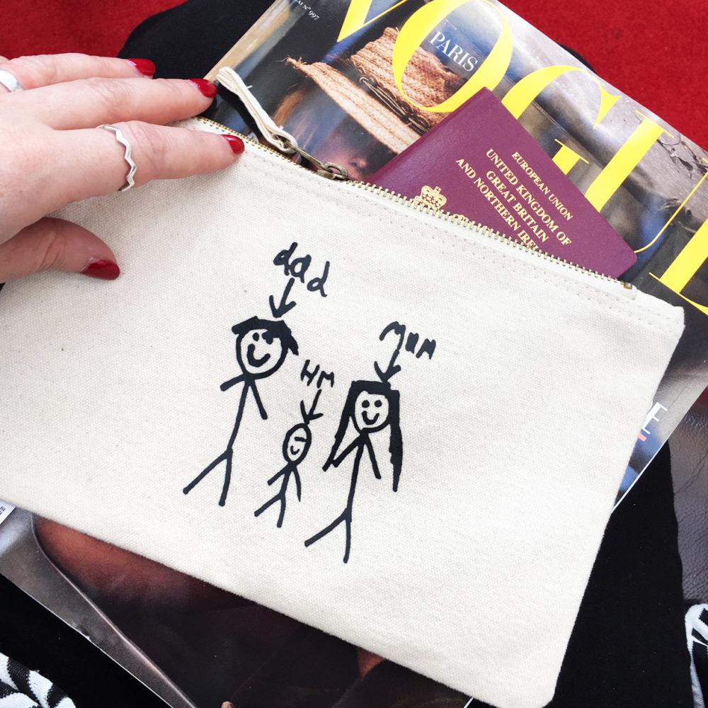 personalised gifts using kids drawings