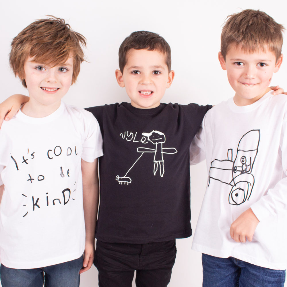 TOTO & FIFI on Peddle - kids tops using childens drawings