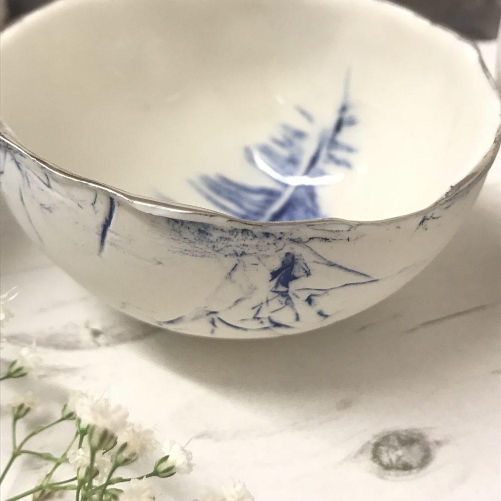 handmade dish, Nicola Briggs ceramics