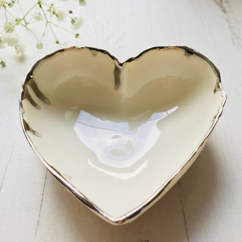Heart shaped Ring Dish