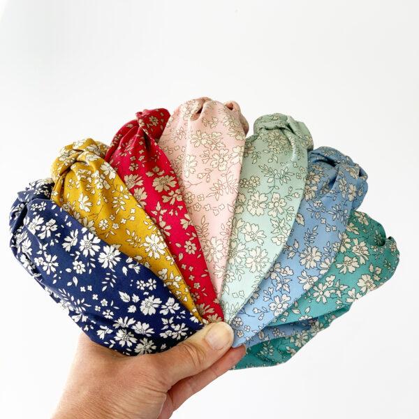 Kaye Hannabuss Textiles, Top Knot Alice Bands
