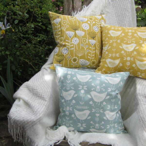 Bright and Sunny Cushions