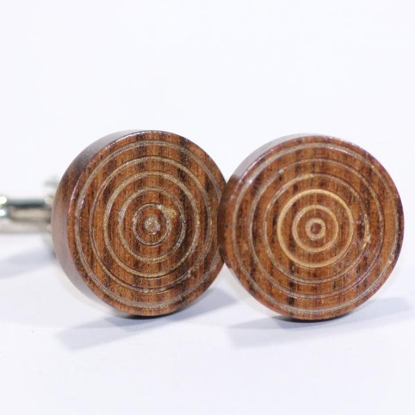 Woodcraft By Owen, Wooden Cufflinks, Pedddle