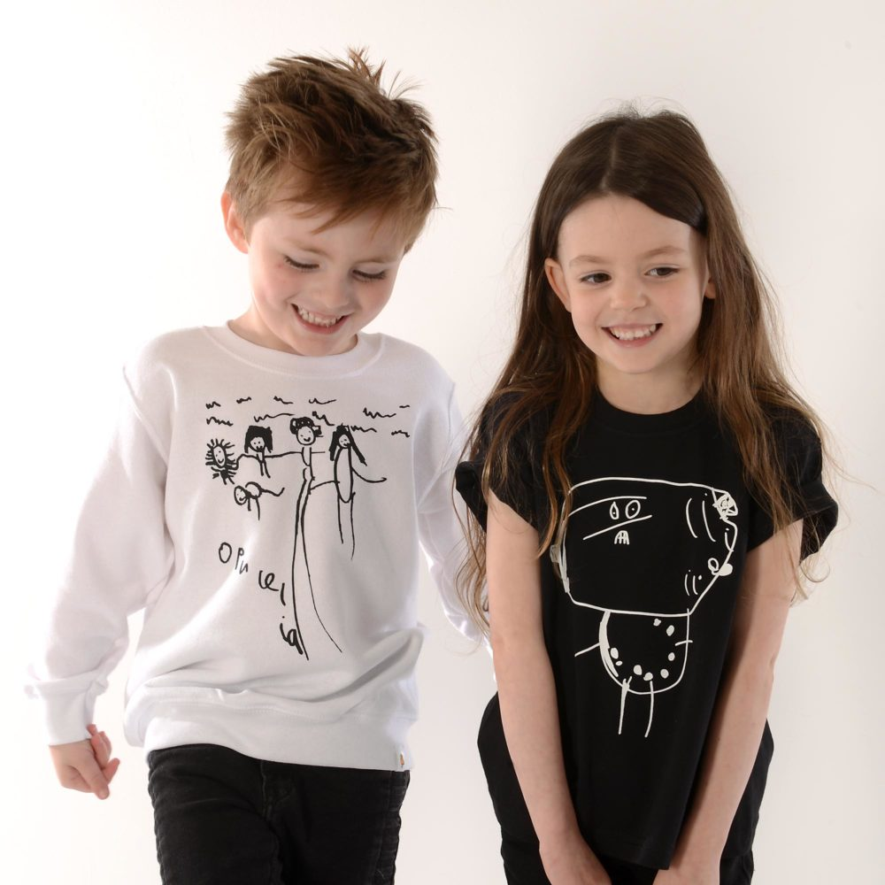 TOTO & FIFI - unisex kids personalised sweater, Pedddle