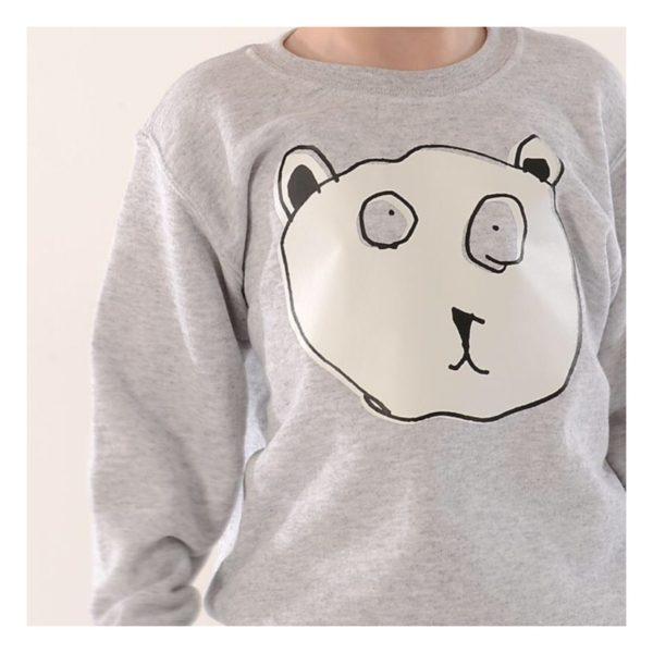TOTO & FIFI - unisex kids bear head sweater, Pedddle