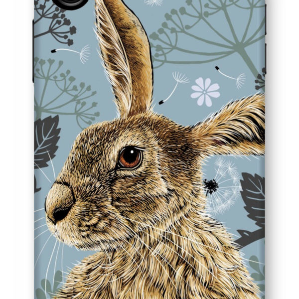Hare iPhone Case; Fox & Boo