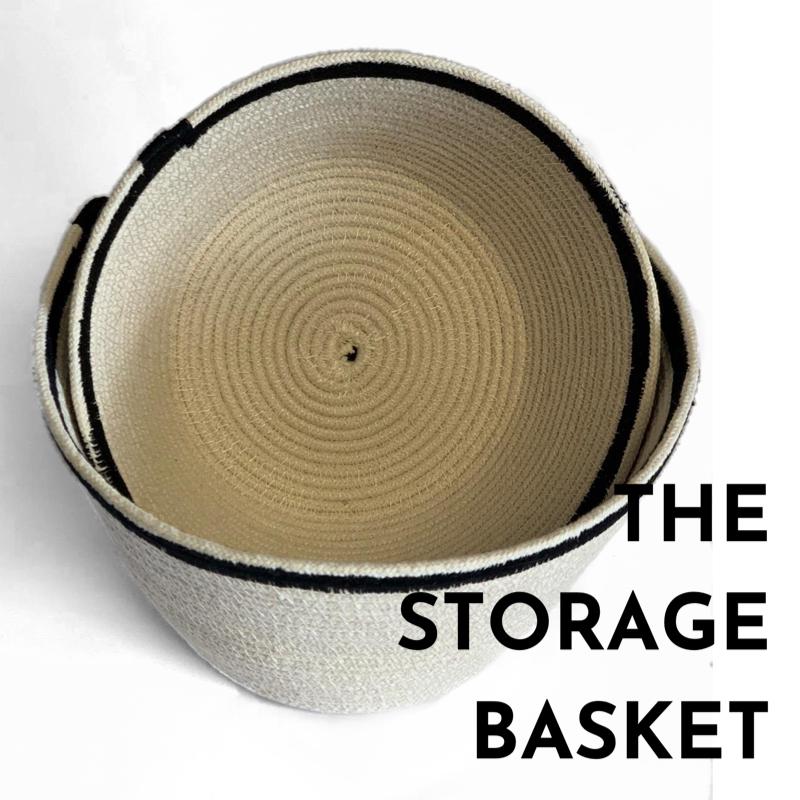 Cart + Ferry, Storage Basket. Pedddle.