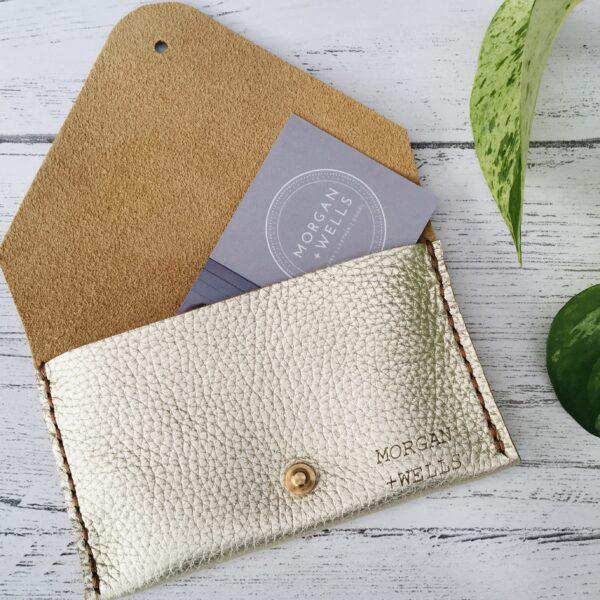 Morgan + Wells, Martha leather coin purse, Pedddle