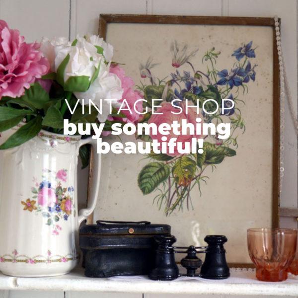 Vintage Shop Mr G Loves Mrs B