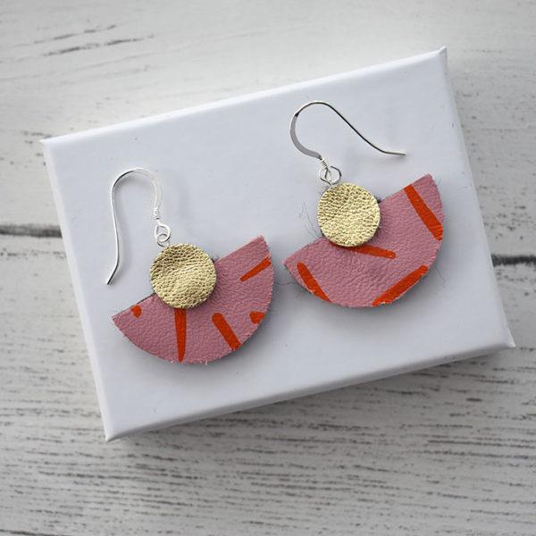 Jemma Marston Half Moon Hook Earrings