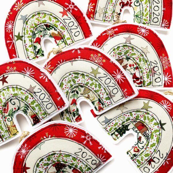 Tink&Reu | Christmas 2020 Fabric Decoration