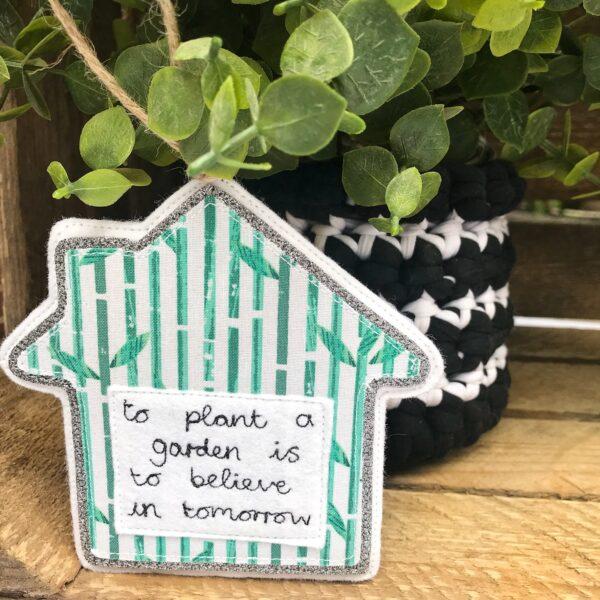Tink&Reu | Crochet Pot & Personalised House Decoration