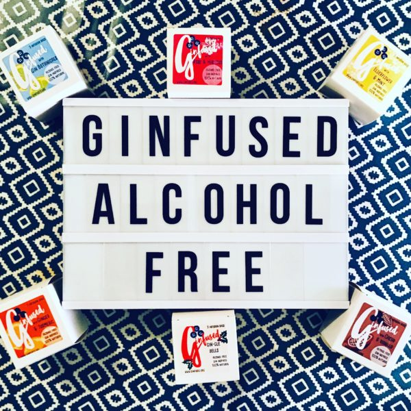 Ginfused, alcohol free