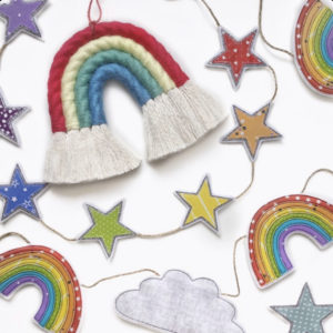 Tink & Reu, Macrame Rainbows