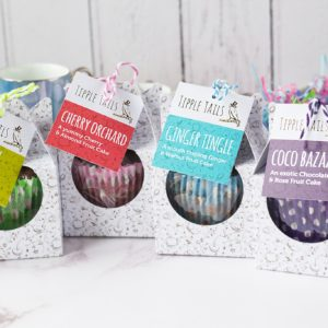 Mini Fruit Cake Collection Tipple Tails, Pedddle