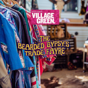The Bearded Gypsy Trade Fayre at the Village Green, Pedddle