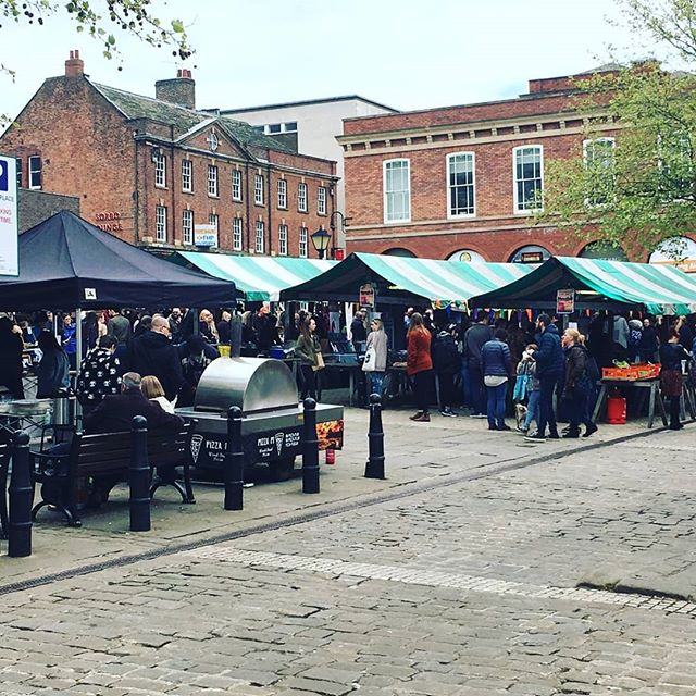 Vegan Knights Market Chesterfield, Pedddle
