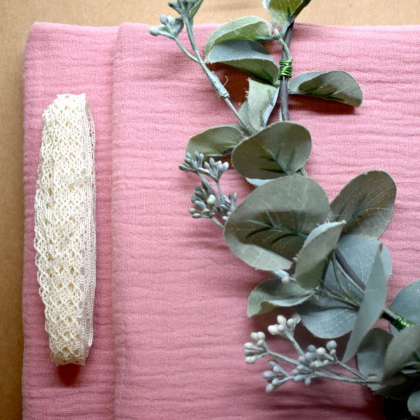 Fabric, Penny & a Pearl. Pedddle.
