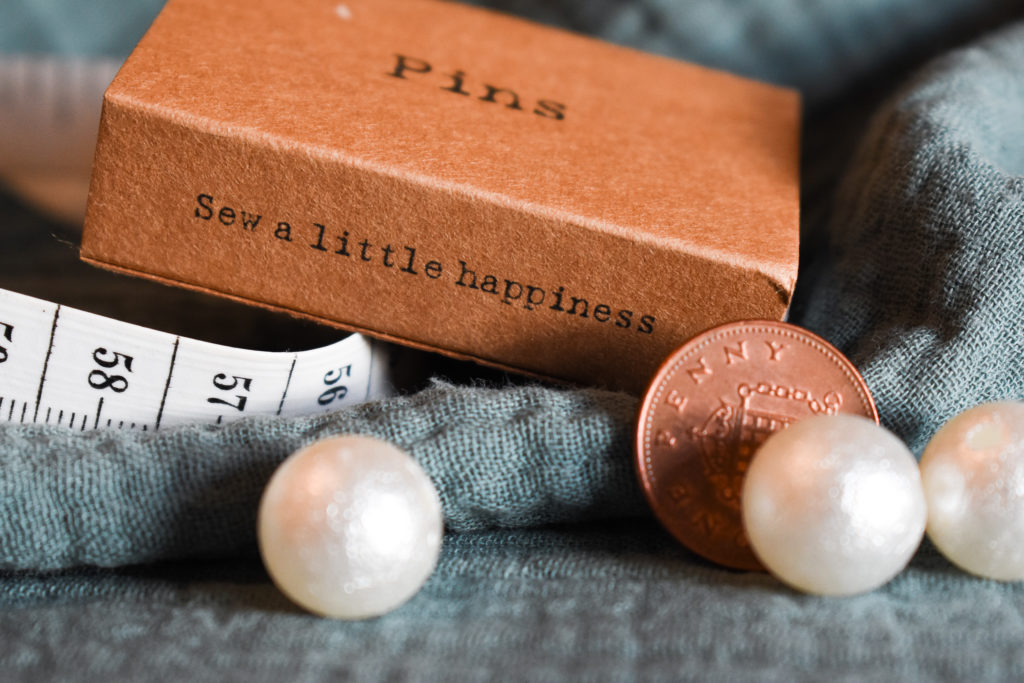 Sew a little happiness. Penny & a Pearl, Pedddle