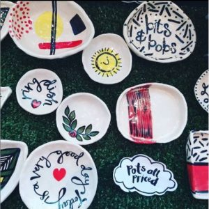 Upsydaisy Craft, Pedddle ceramic pots and dishes