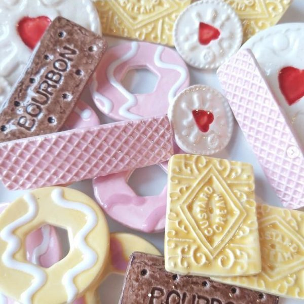 Upsydaisy Craft, Pedddle, ceramic biscuits