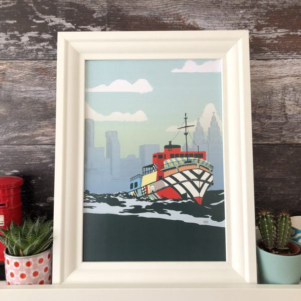 Mock Up Goods Co. Dazzle Ship, Pedddle