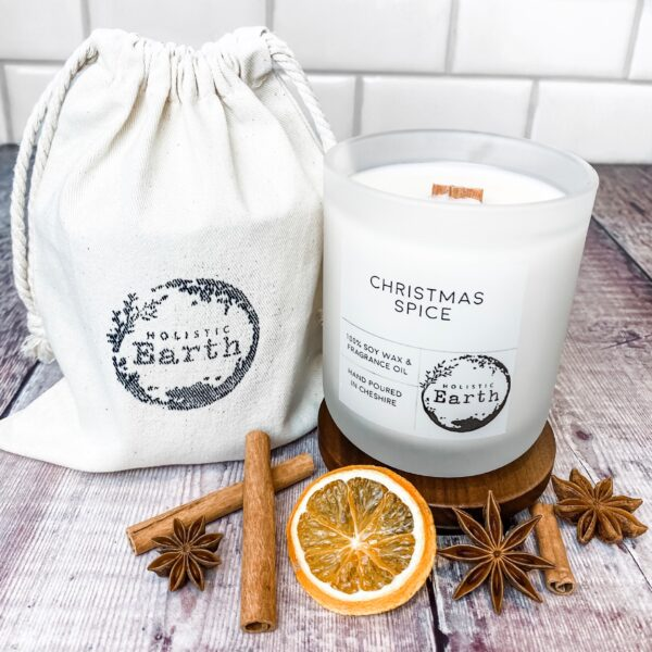 Holistic Earth Christmas Spice Candle