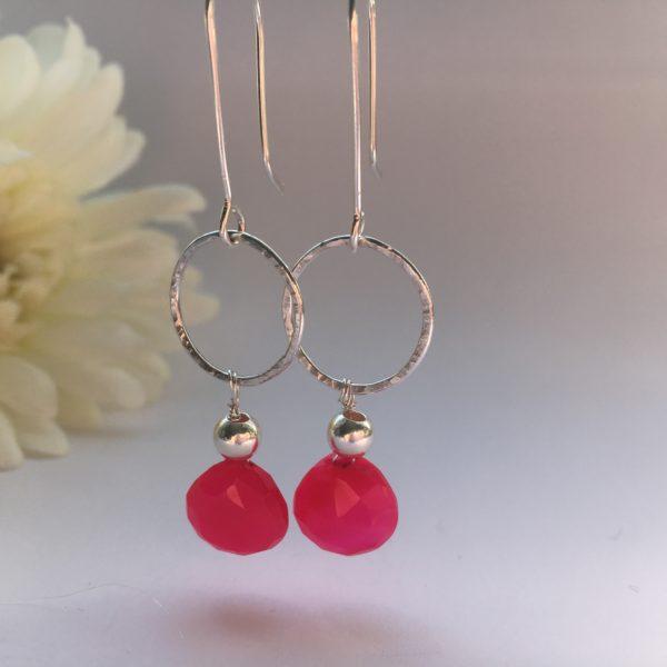 DoodleRocks, glass drop earrings. Pedddle.