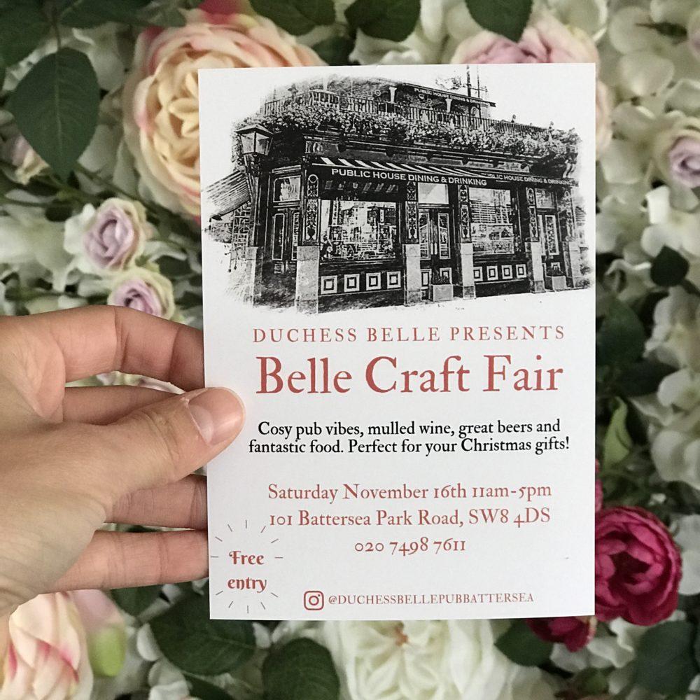 Belle Craft Fair. Pedddle