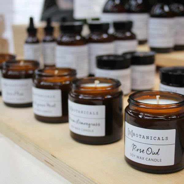 M-Botanicals-Candles. Urban makers. Pedddle
