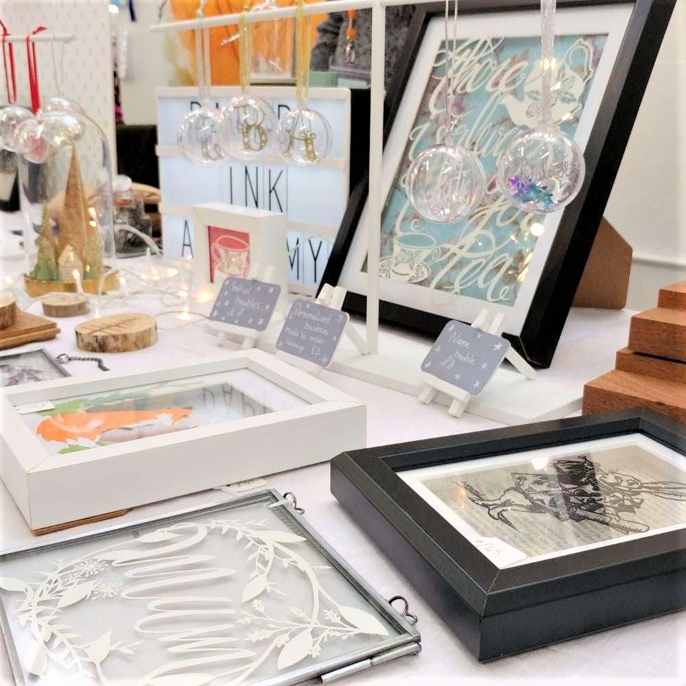Paper Ink Alchemy etsy made local stall