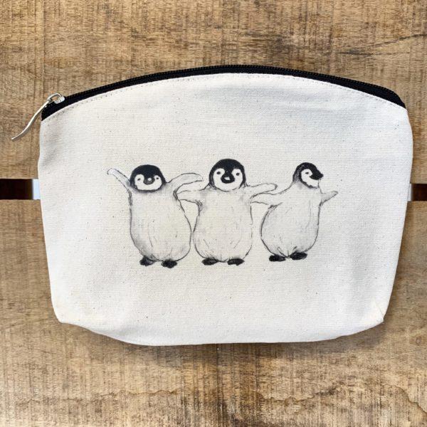 Penguins bag, Whale Tail Art. Pedddle