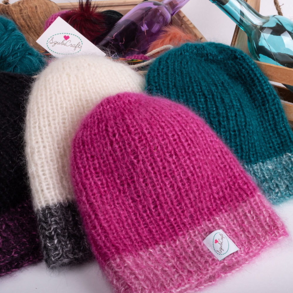 SzubiCrafts-colourful-beanies
