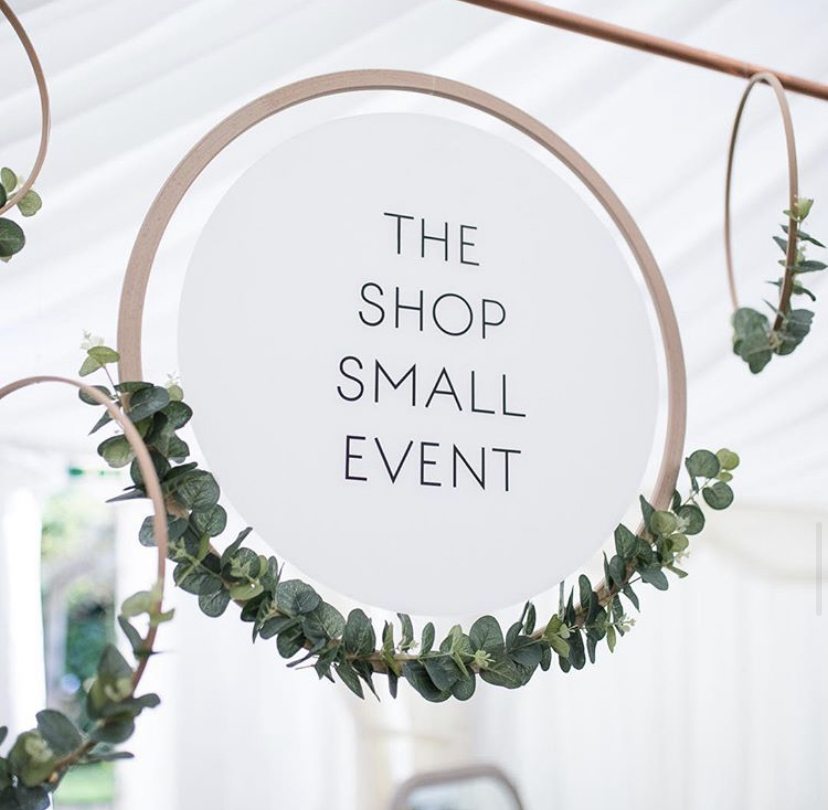 The Shop Small Event, Banner. Pedddle