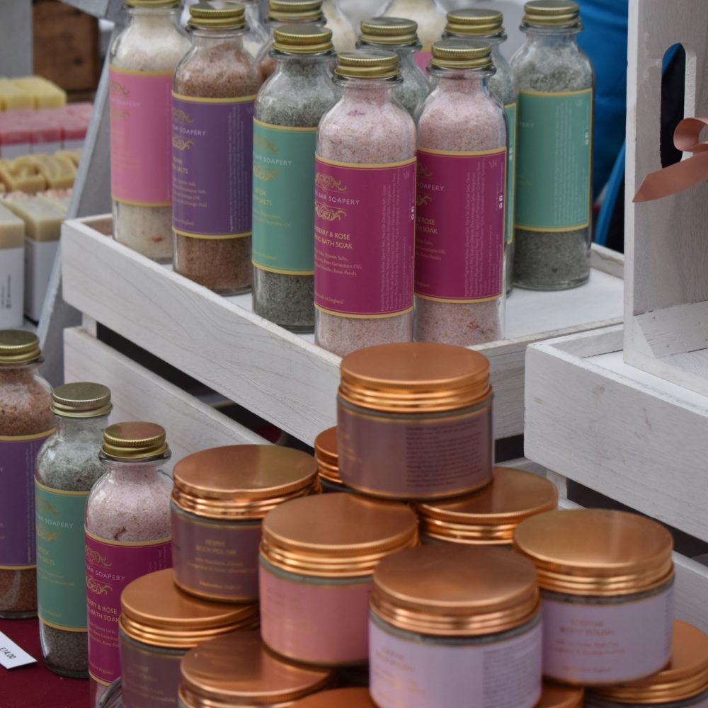 Butter Bar Soapery at the Muswell Hill Creatives Market. Pedddle