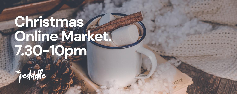Christmas Online market banner