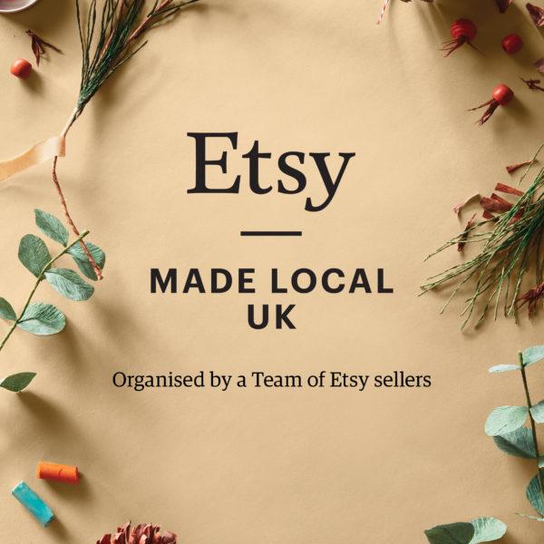 Etsy Made Local banner- Durham. Pedddle
