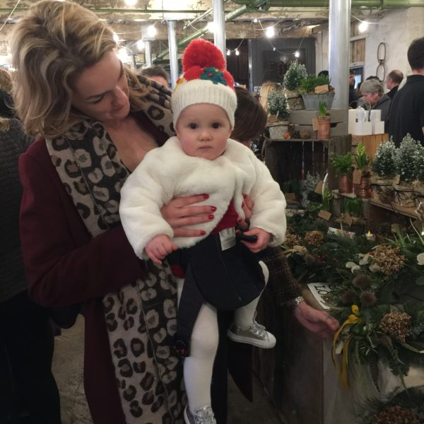 Baby Santa Crafty Vintage @ Holmes Mill Festive Market, Pedddle