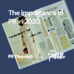 The importance of PR in 2020, Pedddle