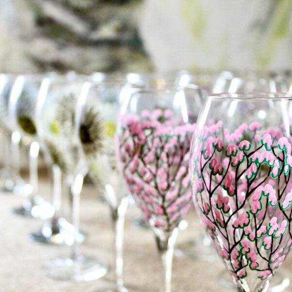 Samara Ball Designs, Painted glasses